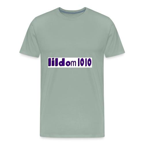 lildom 1010 purple and bLACK - Men's Premium T-Shirt
