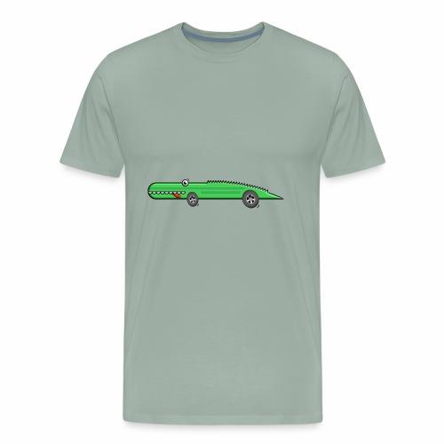 Racing Croco - Men's Premium T-Shirt