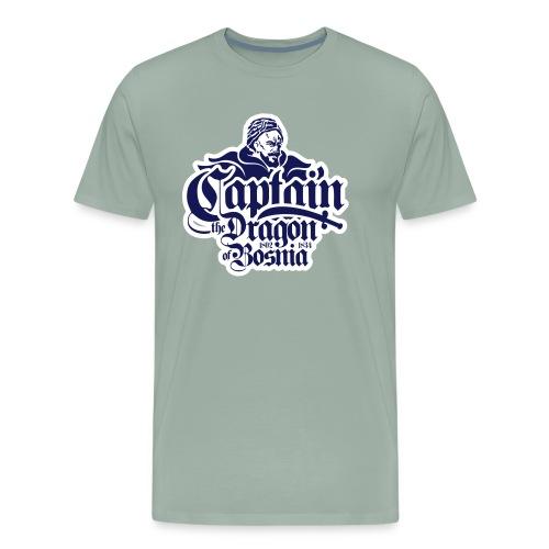 Captain The Dragon Of Bosnia - Men's Premium T-Shirt