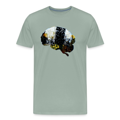 Stefan Lindblad Brain1 Copyright SpreadshirtSize 2 - Men's Premium T-Shirt