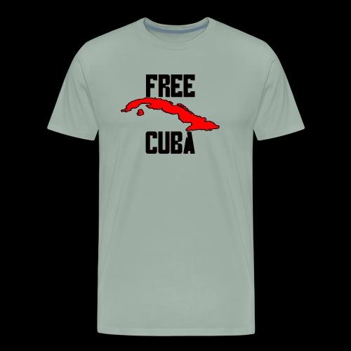 Free Cuba Red - Men's Premium T-Shirt