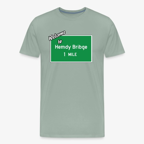 HEMDY BRIBGE Indian Trail Shirt - Men's Premium T-Shirt