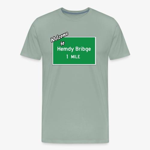 HEMDY BRIBGE Indian Trail Shirt - Men's Premium T-Shirt