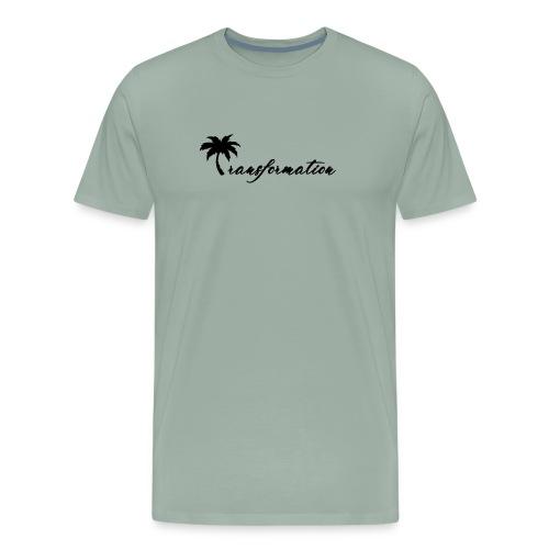 Transformation Coconut Tree - Men's Premium T-Shirt
