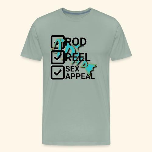 rodreelappealing - Men's Premium T-Shirt