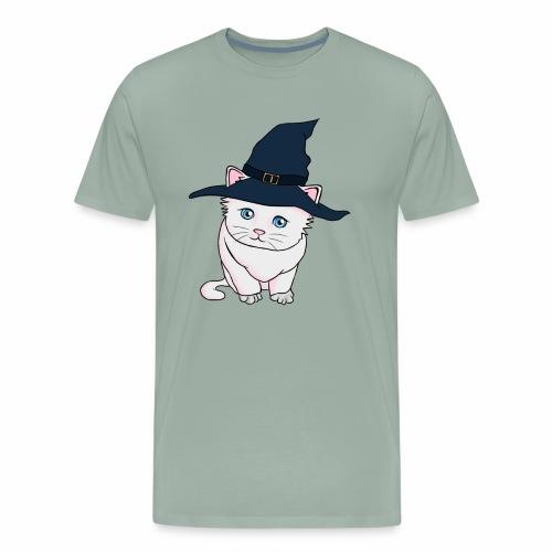Witch Cat - Men's Premium T-Shirt