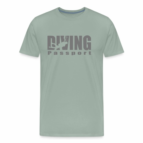 DIVING passport - Men's Premium T-Shirt