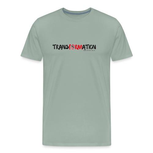TRANSFORMATION PRINT - Men's Premium T-Shirt