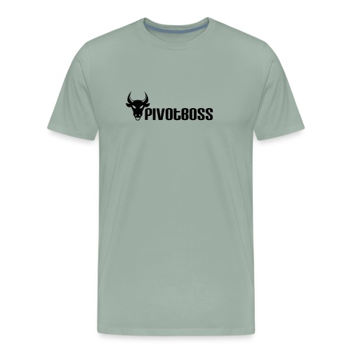 PivotBoss Black Logo - Men's Premium T-Shirt