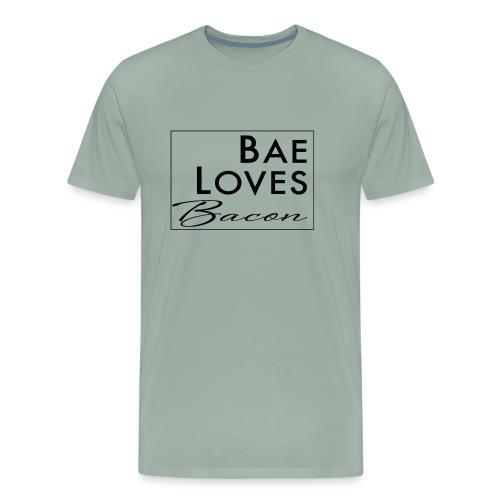 Bae Loves Bacon - Men's Premium T-Shirt