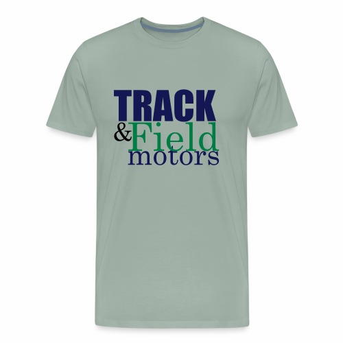 Track & Field Logo - Men's Premium T-Shirt