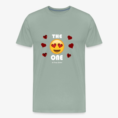 THE ONE WHITE - Men's Premium T-Shirt