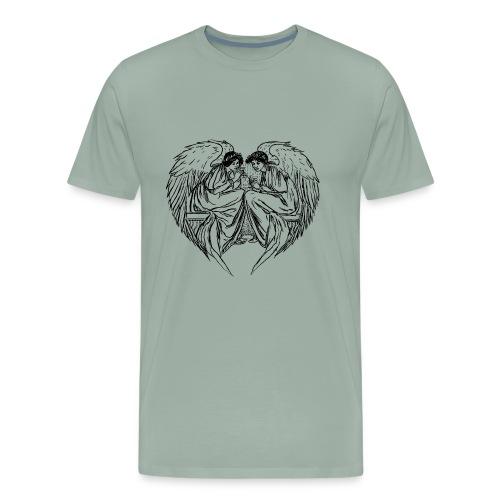 Angels in love - Men's Premium T-Shirt
