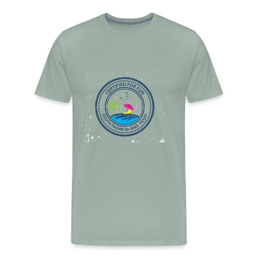 South Padre Island Beach, Texas - Men's Premium T-Shirt