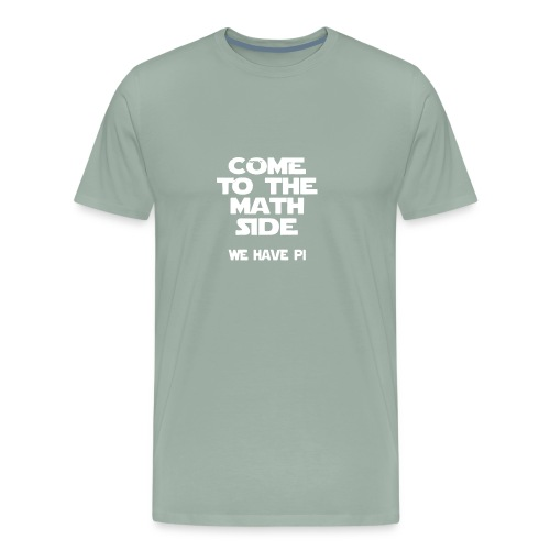 The Math Logo Humour Funny - Men's Premium T-Shirt