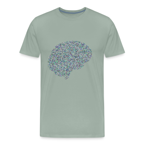 brain scramble - Men's Premium T-Shirt