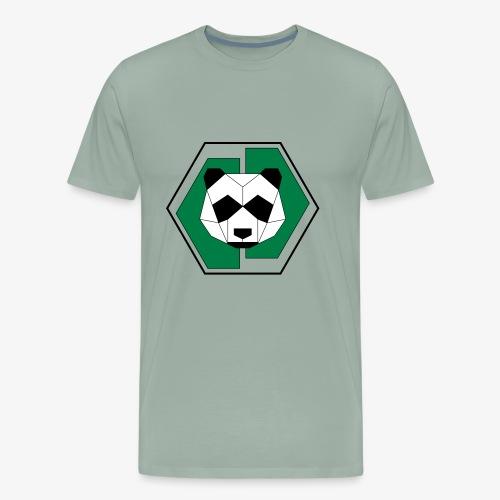 Panda Geometric - Men's Premium T-Shirt