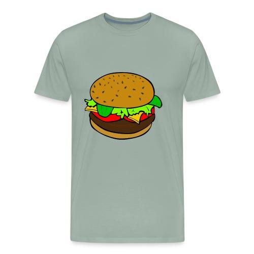 hamburger - Men's Premium T-Shirt