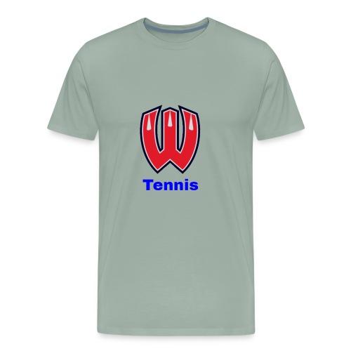 Westview High School Tennis (Blue Lettering) - Men's Premium T-Shirt