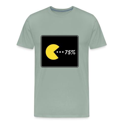 PacMan 75% - Men's Premium T-Shirt