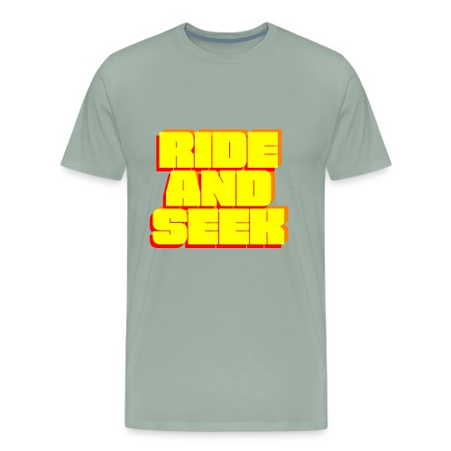 Ride And Seek BOLD - Men's Premium T-Shirt