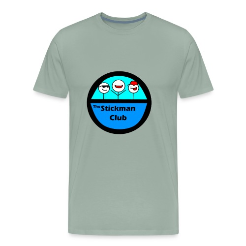 Stickman Club Logo - Men's Premium T-Shirt
