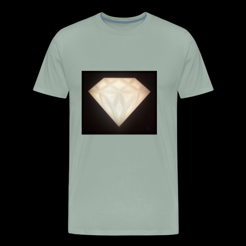 Glowing Diamond - Men's Premium T-Shirt