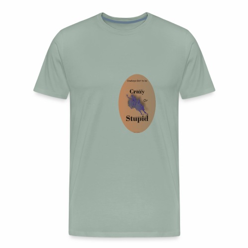 Cowboy Crazy - Men's Premium T-Shirt