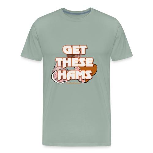 #GetTheseHams - Pro Wrestling Shirt - Men's Premium T-Shirt