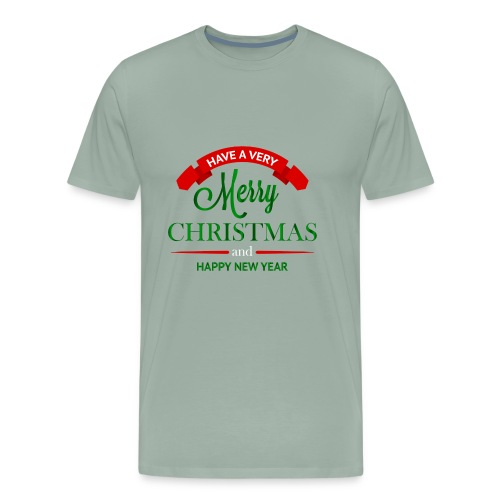 Have a Merry Christmas Decoration PNG Clipart 28 - Men's Premium T-Shirt