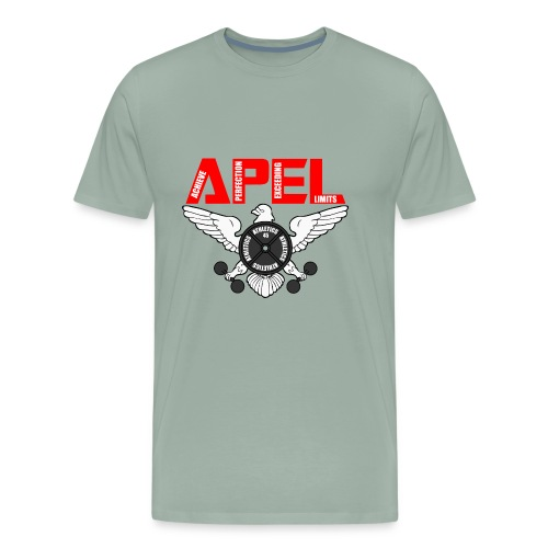 APEL RED - Men's Premium T-Shirt