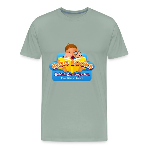 1000 Books Before Kindergarten - Men's Premium T-Shirt