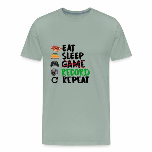 YouTube Cycle - Men's Premium T-Shirt
