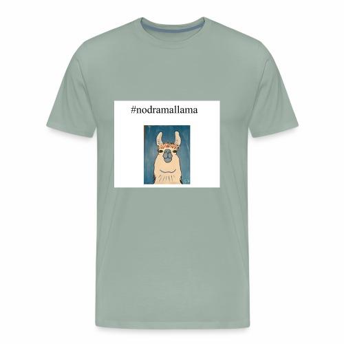 nodramallama - Men's Premium T-Shirt
