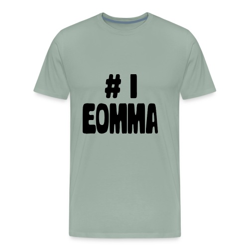 #1 Eomma - Men's Premium T-Shirt