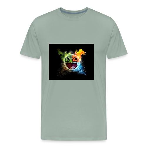 Smiley seasons - Men's Premium T-Shirt