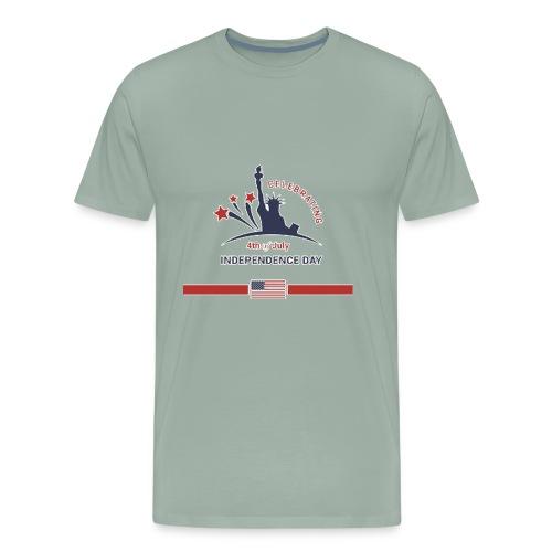 estatua de libertad independence day - Men's Premium T-Shirt