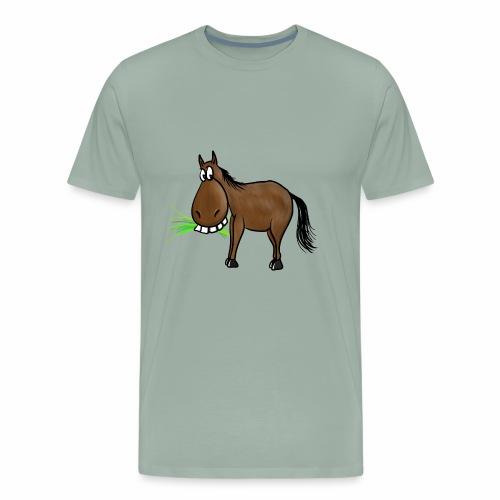 funny Horse - Men's Premium T-Shirt