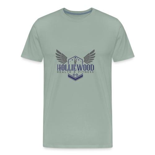 HollieWood Health & Fitness - Men's Premium T-Shirt