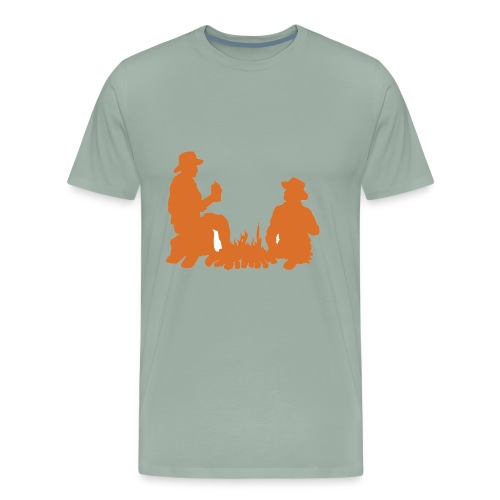 cowboy shirt cowgirl cowboy shirts wrangler - Men's Premium T-Shirt