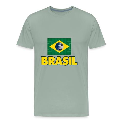 Brasil soccer - Men's Premium T-Shirt