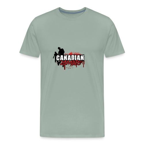 Canadian Zombie - Men's Premium T-Shirt