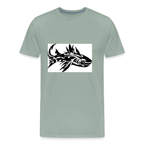 tribal shark2 - Men's Premium T-Shirt