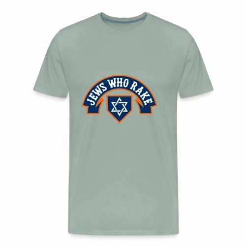 Jews Who Rake - Mazel 'Stros - Men's Premium T-Shirt