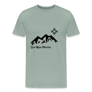 Live New Mexico logo - Men's Premium T-Shirt