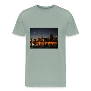 St Louis Arch - Men's Premium T-Shirt