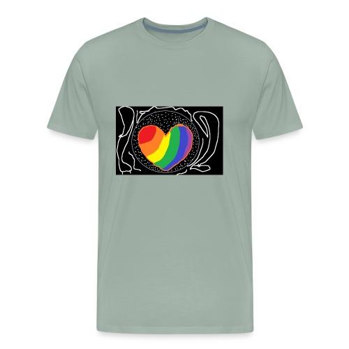 hearty - Men's Premium T-Shirt