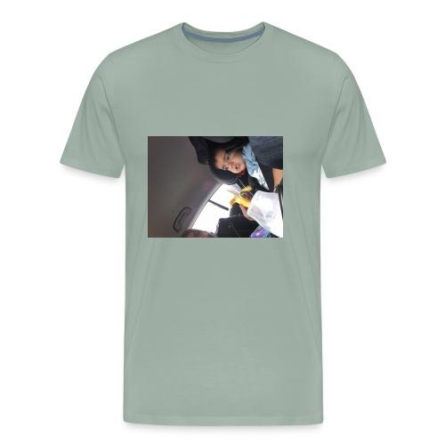 Nihath vlogs - Men's Premium T-Shirt