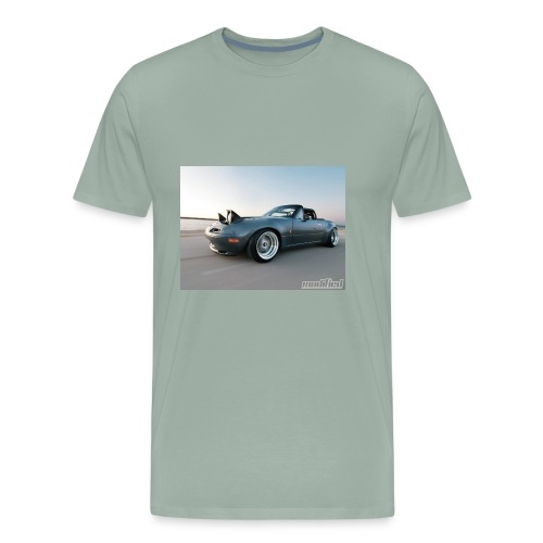modp 1204 06 1990 mazda mx5 miata full view - Men's Premium T-Shirt