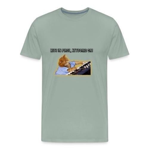 RIP Keyboard Cat - Men's Premium T-Shirt